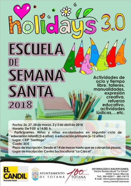 """""""Holidays 3.0. Edición Escuela de Semana Santa´2018"""", Foto 3"""