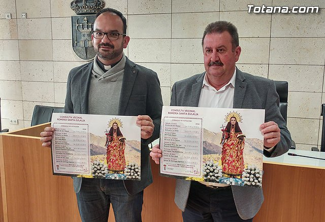 A neighborhood consultation is promoted to know the popular feeling about the day of celebration of the rise of La Santa in pilgrimage for the year 2020 - 1