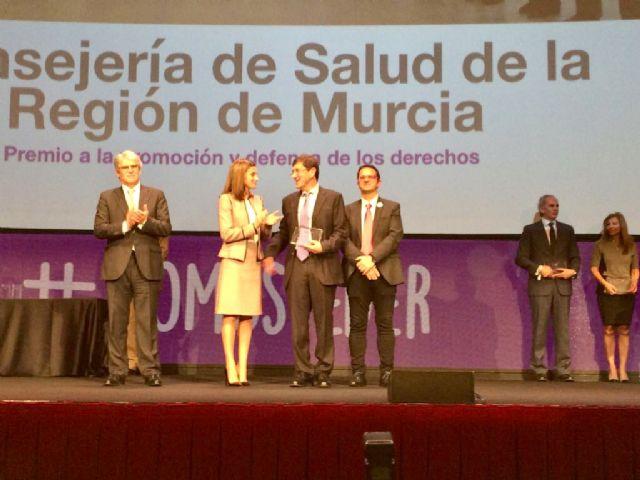 Premio Feder 2018 a la Consejería de Salud, Foto 2