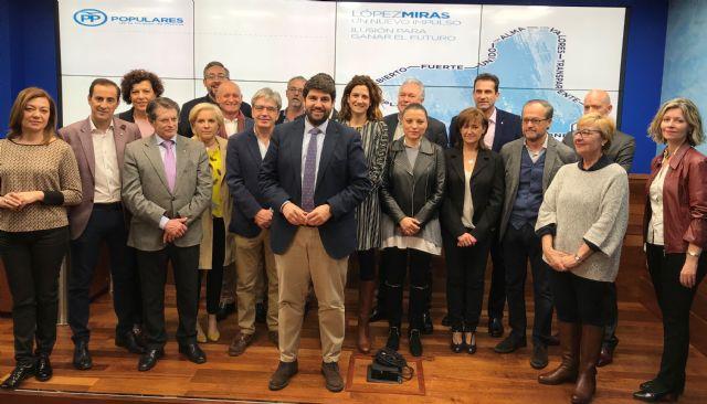 López Miras: El PP sale cohesionado y fuerte con proyecto de futuro que marcará el rumbo de la Región de Murcia - 1, Foto 1