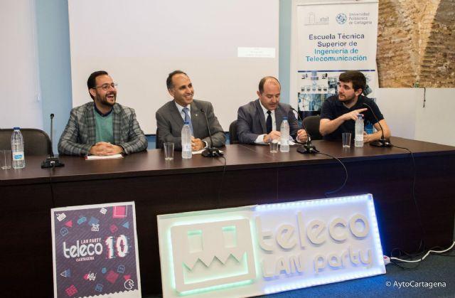 Cartagena reunira a mas de 300 aficionados del ocio digital en la Teleco Lan Party - 1, Foto 1