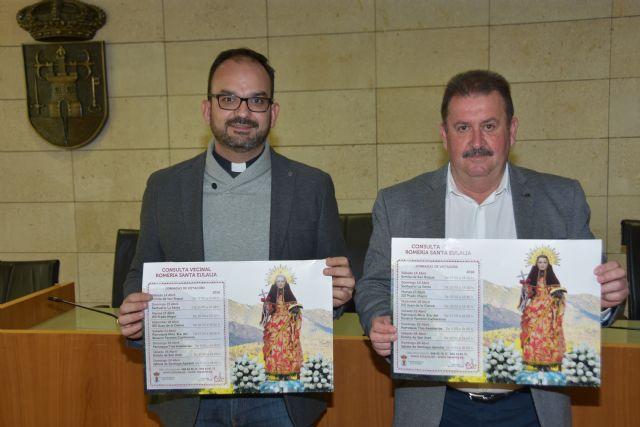 El Patronato de la Fundación La Santa, en colaboración con el Ayuntamiento, promueven una consulta vecinal