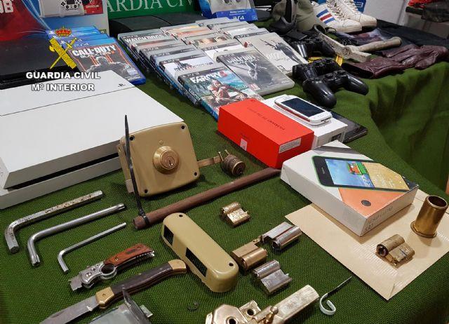 La Guardia Civil esclarece más de una treintena de robos en viviendas y comercios de Jumilla - 5, Foto 5