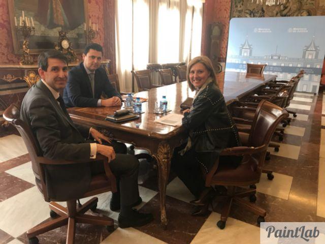 El Alcalde demanda en Madrid mejoras para los Juzgados de San Javier - 1, Foto 1