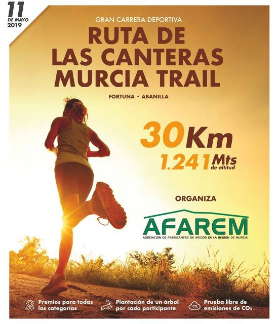 Abiertas inscripciones para la Ruta de las Canteras Murcia Trail - 1, Foto 1