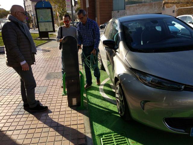 Cs pide al Ayuntamiento que cuente con AUVE para la instalación de los 5 puntos de carga de vehículos eléctricos - 1, Foto 1