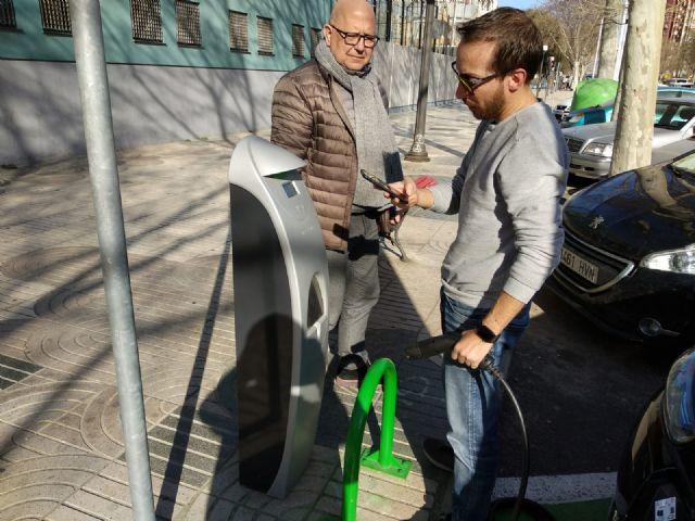 Cs pide al Ayuntamiento que cuente con AUVE para la instalación de los 5 puntos de carga de vehículos eléctricos - 2, Foto 2