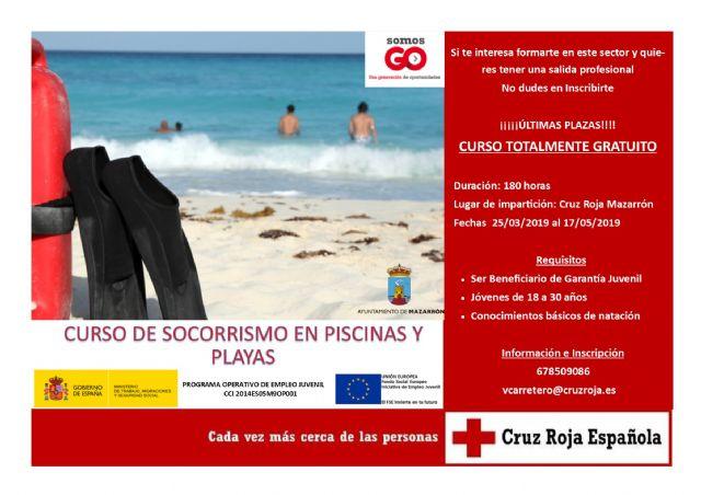 Curso gratuito de socorrismo en playas y piscinas, Foto 1