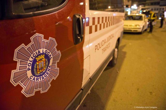 La Policía Local de Cartagena controla 1.120 vehículos en la campaña especial de camiones y furgones - 1, Foto 1