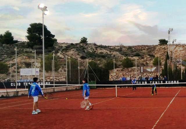 Acuerdan suscribir un convenio de colaboración con el Club Deportivo Kuore para la cesión de pistas de tenis en las instalaciones de la Ciudad Deportiva, Foto 2
