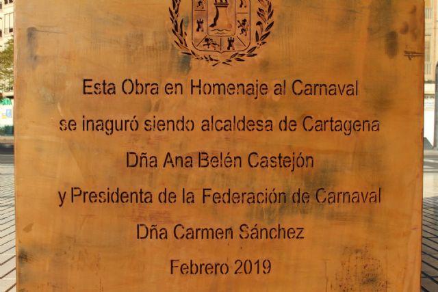 Cs pide al Gobierno local que corrija las erratas y errores ortográficos en la inscripción del monumento al Carnaval - 3, Foto 3