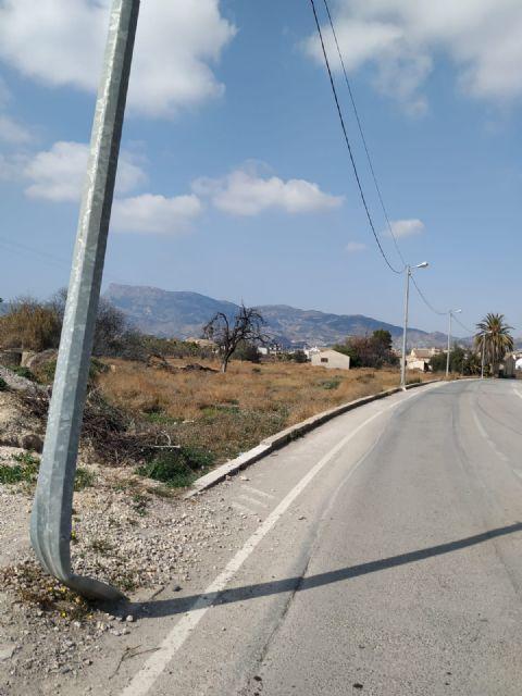IU pide que se incremente la seguridad vial en el camino de la Cruz - 1, Foto 1