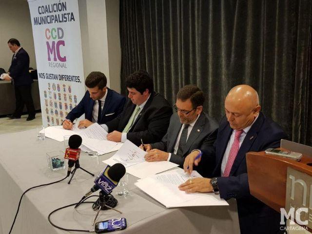 Nace la coalición municipalista que dará voz a los 45 municipios de la Comunidad Autónoma en la Asamblea Regional - 2, Foto 2