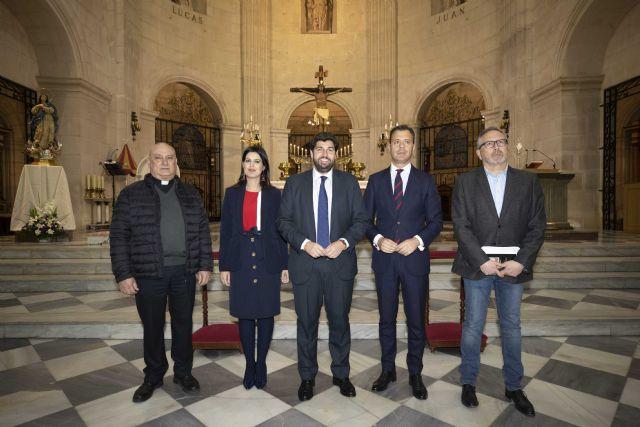 El presidente visita la Basílica de la Purísima Concepción de Yecla, con motivo del 150 aniversario de su apertura al culto - 1, Foto 1