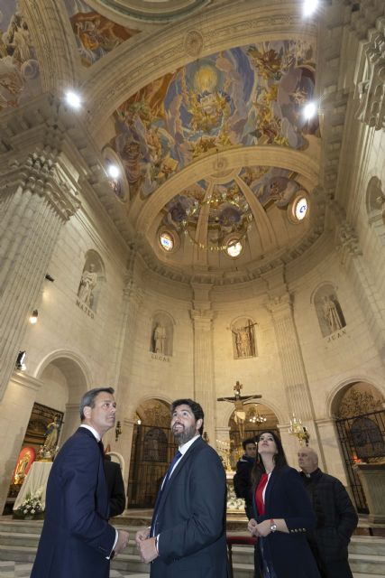 El presidente visita la Basílica de la Purísima Concepción de Yecla, con motivo del 150 aniversario de su apertura al culto - 3, Foto 3