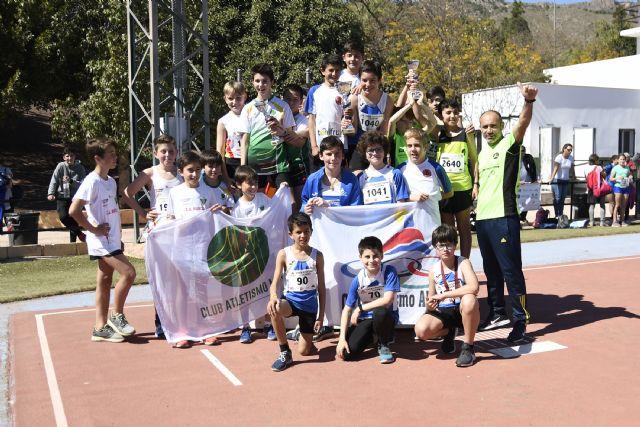 Grandes resultados del Club Atletismo Alhama en el Cto. Regional de Clubes Sub14 y de Pruebas Combinadas Benjamín y Alevín, Foto 1
