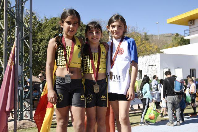 Grandes resultados del Club Atletismo Alhama en el Cto. Regional de Clubes Sub14 y de Pruebas Combinadas Benjamín y Alevín, Foto 2
