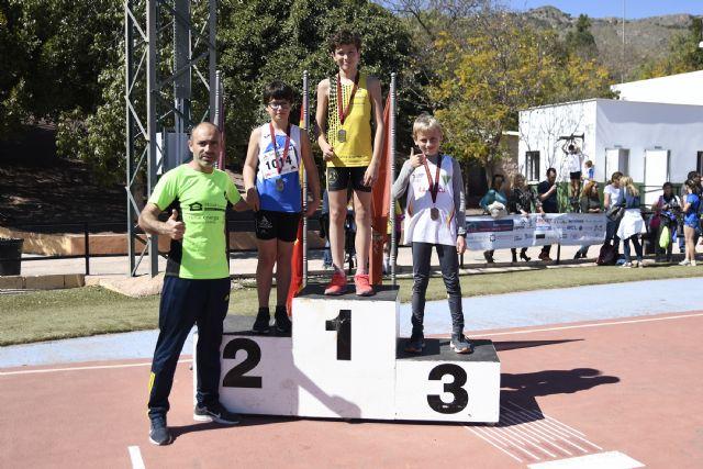Grandes resultados del Club Atletismo Alhama en el Cto. Regional de Clubes Sub14 y de Pruebas Combinadas Benjamín y Alevín, Foto 4
