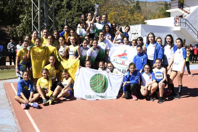 Grandes resultados del Club Atletismo Alhama en el Cto. Regional de Clubes Sub14 y de Pruebas Combinadas Benjamín y Alevín, Foto 5