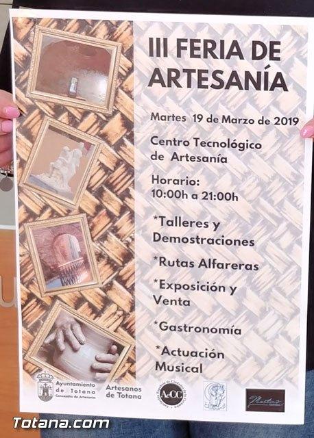 La III Feria de la Artesanía de Totana se celebrará el martes 19 de marzo en el entorno del Centro Tecnológio de la Artesanía - 2, Foto 2