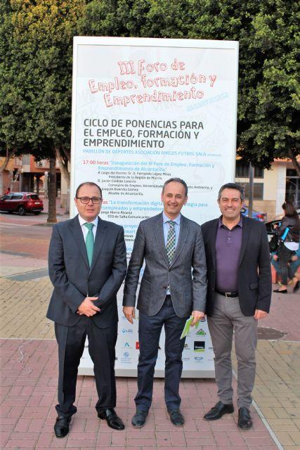 El III Foro de Empleo, Formación y Emprendimiento en Alcantarilla, concluyo con 52 empresas y entidades - 2, Foto 2