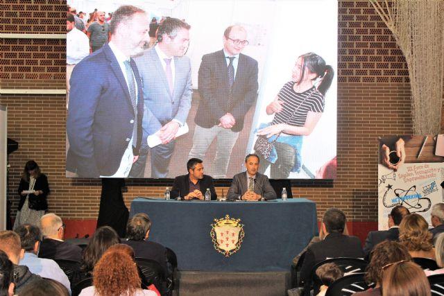 El III Foro de Empleo, Formación y Emprendimiento en Alcantarilla, concluyo con 52 empresas y entidades - 4, Foto 4
