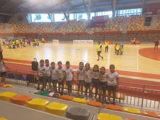 Colegio Reina Sofía participated in the Regional Final of Playing Athletics Benjamin of School Sports