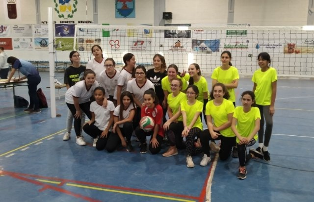 �guilas hosted the Intermunicipal Phase of School Sports Volleyball