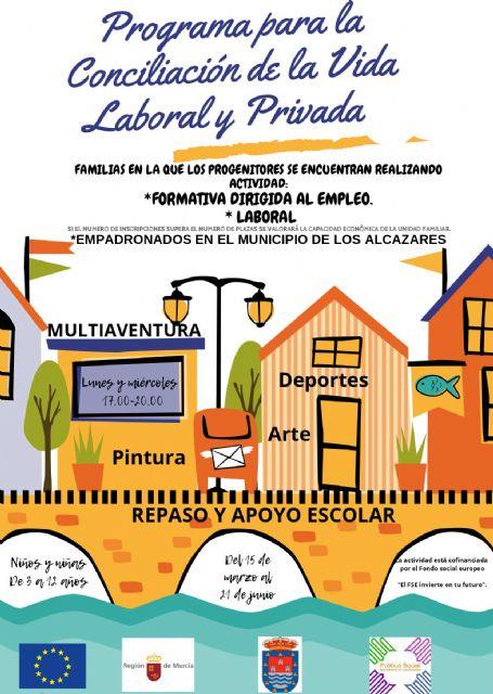 El Ayuntamiento de Los Alcázares facilitará la conciliación de la vida laboral y la vida privada de 15 familias de la localidad - 2, Foto 2