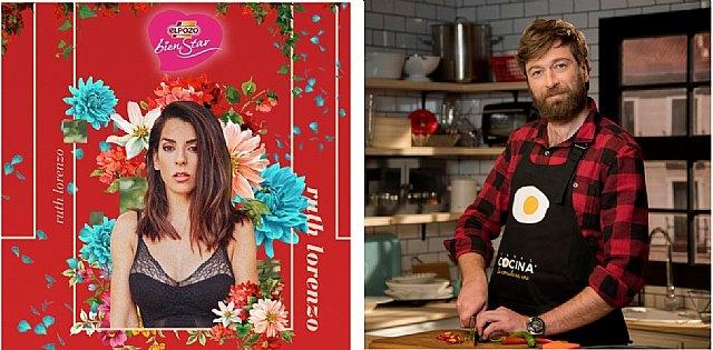 Ruth Lorenzo y el chef Julius, embajadores de ELPOZO ALIMENTACIÓN en Alimentaria 2018, Foto 1