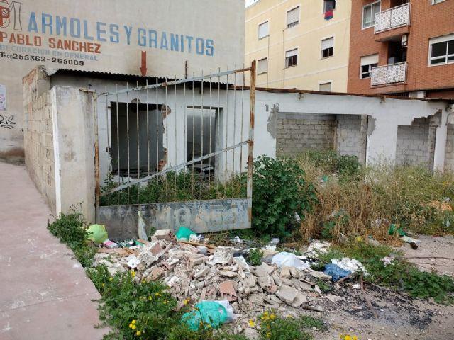 Ahora Murcia pide limpieza, seguridad y movilidad dignas en la calle Taller de Patiño - 1, Foto 1