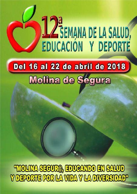 La 12ª Semana de la Salud, Educación y Deporte de Molina de Segura se celebra del 16 al 22 de abril con una apuesta por la diversidad - 1, Foto 1