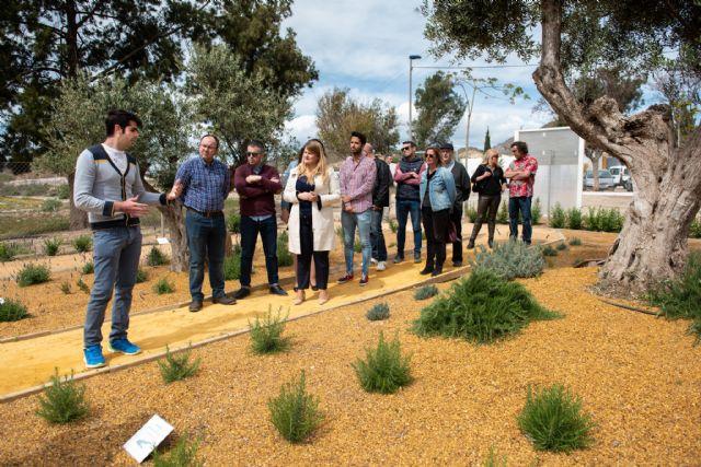 El jardín etnobotánico crea un nuevo espacio de educación medioambiental en el municipio, Foto 1