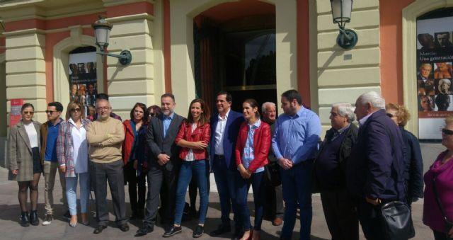 José Antonio Serrano presenta su candidatura a las Primarias para la elección de Secretario General de la Agrupación Socialista del Municipio de Murcia - 1, Foto 1