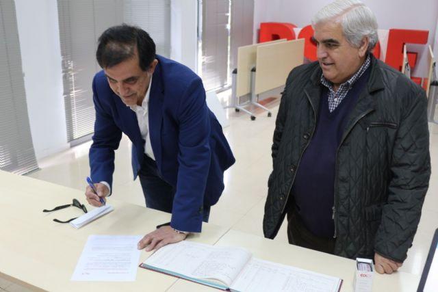 José Antonio Serrano presenta su candidatura a las Primarias para la elección de Secretario General de la Agrupación Socialista del Municipio de Murcia - 2, Foto 2