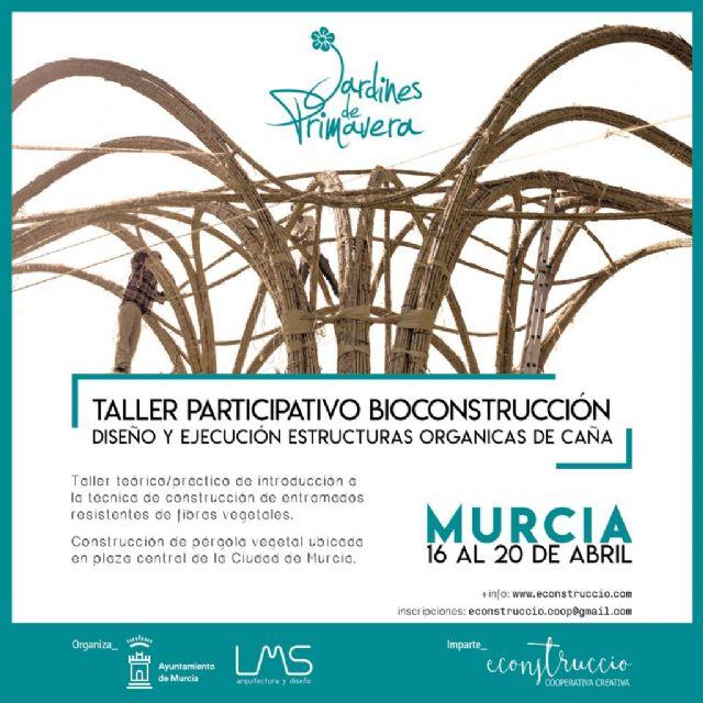 El Ayuntamiento organiza un taller gratuito de bioconstrucción con caña del 16 al 20 de abril - 1, Foto 1