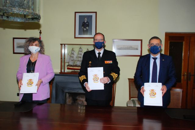 El Ministerio de Defensa otorga la concesión del antiguo Pañol de la Comisión Naval de Regatas del Arsenal de Cartagena a la UNU y a la UPCT - 1, Foto 1