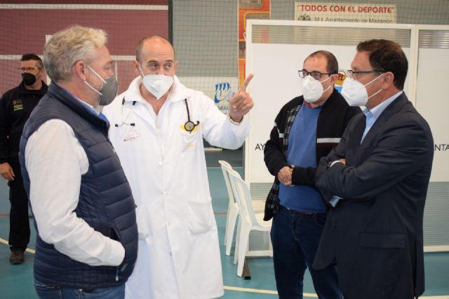 Vacunación masiva Covid-19 en Mazarrón, Foto 1