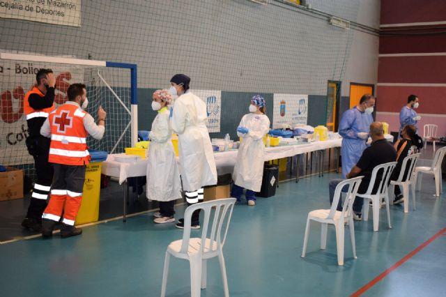 Vacunación masiva Covid-19 en Mazarrón, Foto 3
