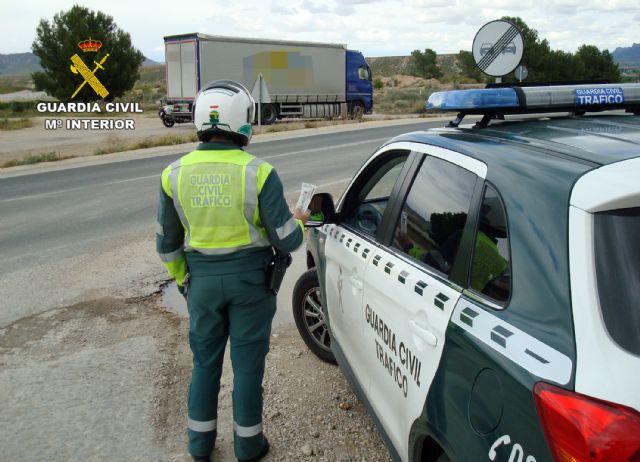 La Guardia Civil intercepta al conductor de un vehículo articulado de 26 toneladas conduciendo bajo los efectos de drogas - 4, Foto 4