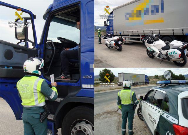 La Guardia Civil intercepta al conductor de un vehículo articulado de 26 toneladas conduciendo bajo los efectos de drogas - 5, Foto 5