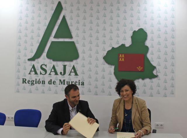 El Ayuntamiento y ADEA-ASAJA formalizan un nuevo convenio que beneficiará al sector agrario de Puerto Lumbreras - 2, Foto 2