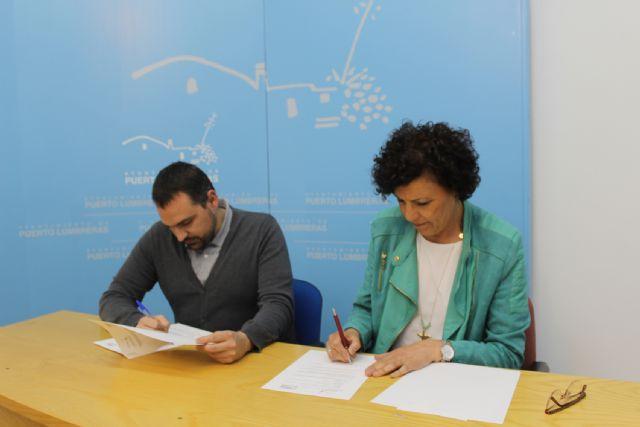 Un nuevo convenio de  33.000 euros para fomentar la música en Puerto Lumbreras - 2, Foto 2
