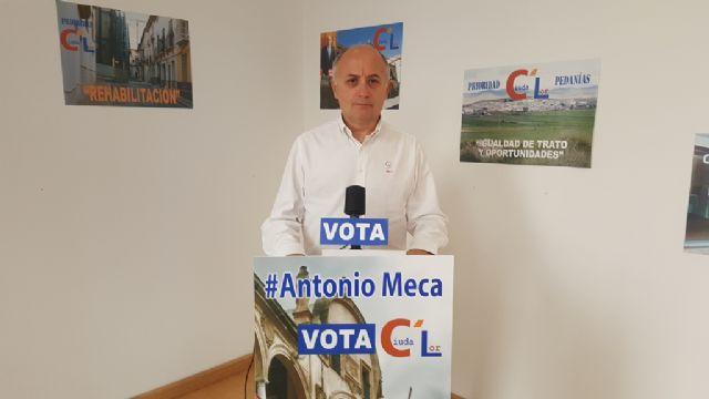 Antonio Meca incluye en el programa electoral de Ciudalor el control de la inmigración irregular, con sensibilidad pero sin complejos - 1, Foto 1