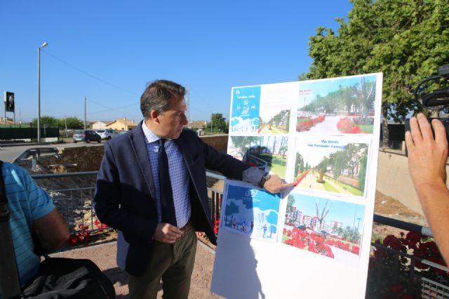 Fulgencio Gil presenta el proyecto de zonas verdes más ambicioso de la historia, que dotará a Lorca de 10 kilómetros de Corredores Verdes y Nuevas Alamedas - 5, Foto 5