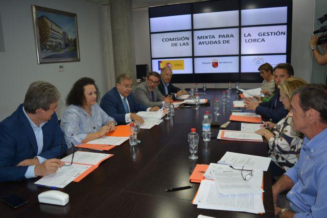 La Comisión Mixta concede 409.000 euros en ayudas del alquiler a familias de Lorca - 1, Foto 1