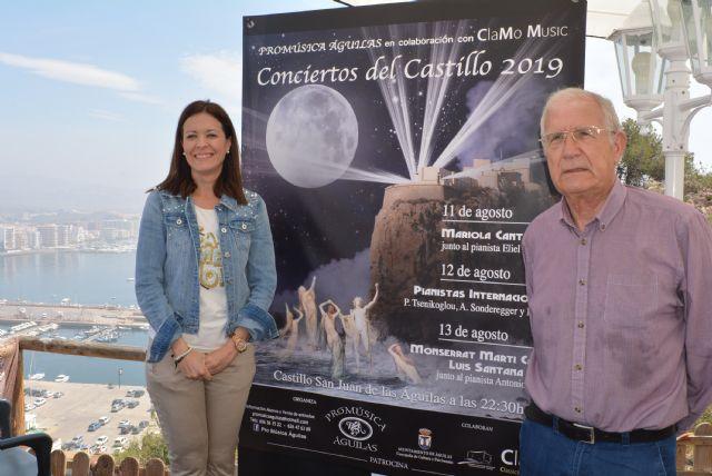 La luna de agosto iluminará nuevamente los Conciertos del Castillo, en los que actuarán figuras de la talla artística de Mariola Cantarero y Monserrat Martí Caballé - 1, Foto 1