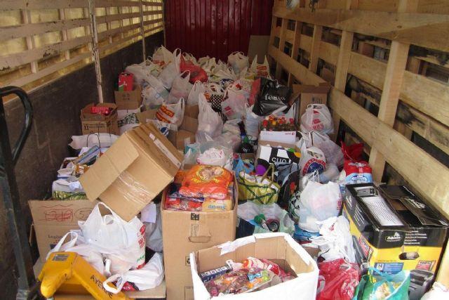 El Ayuntamiento ofrece su colaboración al Banco de Alimentos para que mantenga su almacén logístico en Cartagena - 1, Foto 1