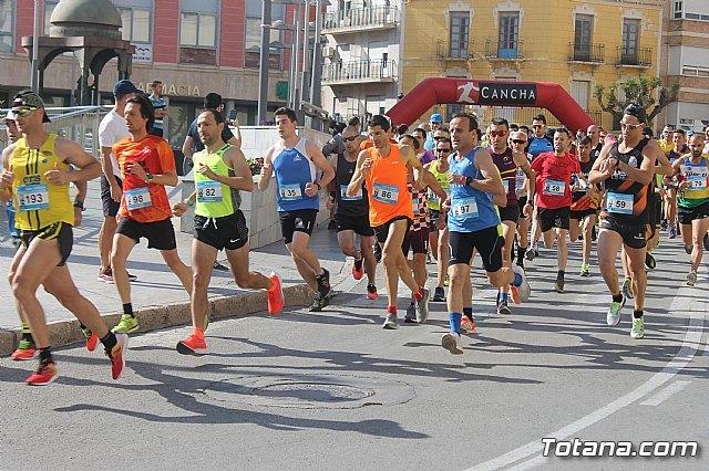 Raúl Guevara y Mar Martínez, del equipo Rajaos Runners de Alcantarilla, se proclaman vencedores de la XXIII Carrera Subida a La Santa, Foto 1