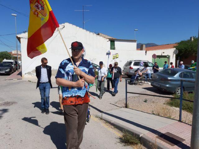 Los Centros de Día para la Discapacidad celebran su particular Entierro de la Sardina, en el transcurso de una jornada transversal festiva, Foto 8